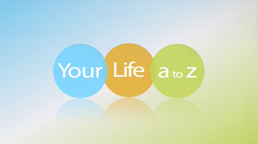 Your life a to z