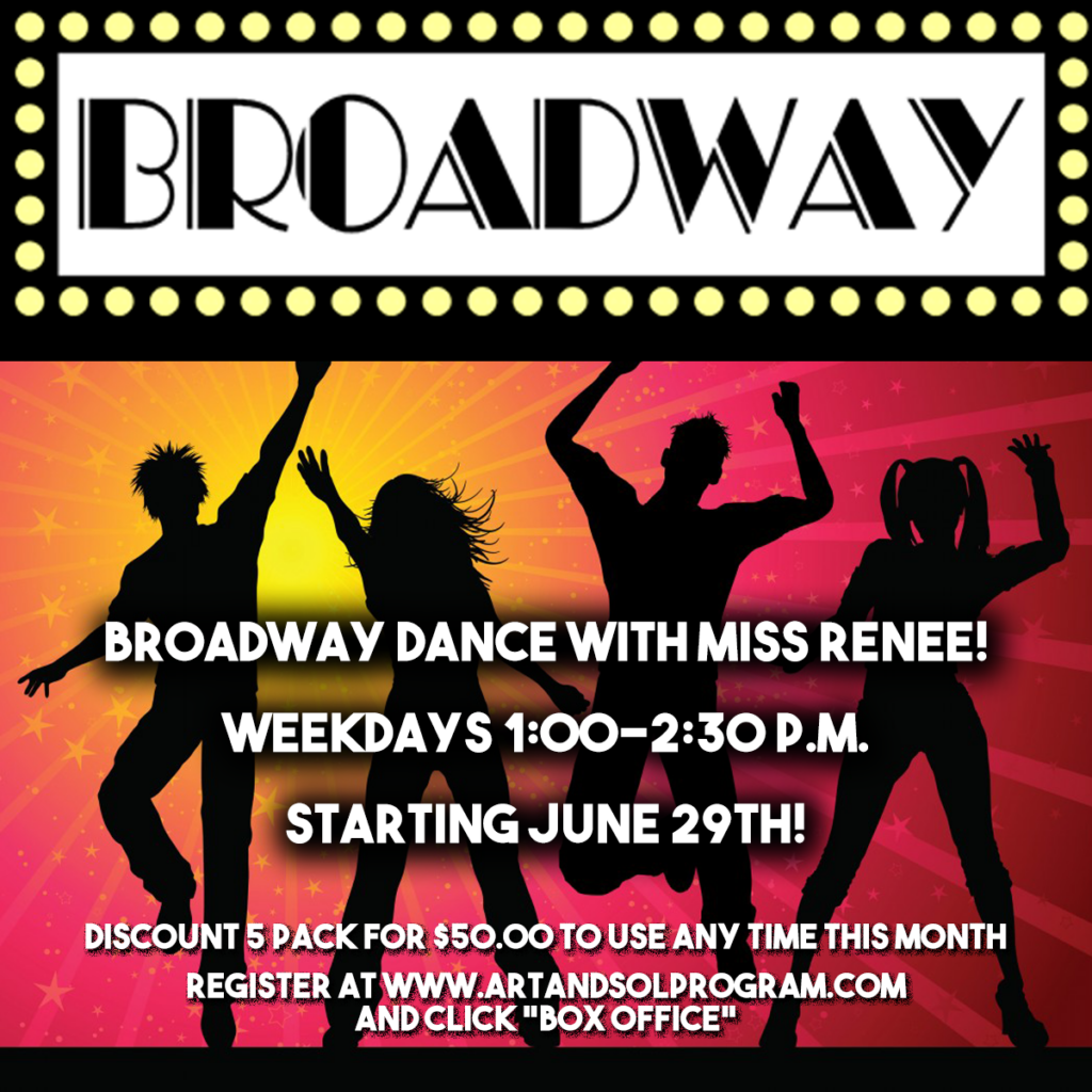 Click here to sign up for our Broadway Dance Classes!